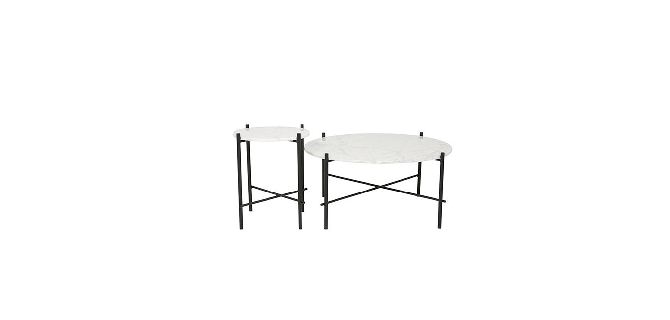 Eliza Piped side table