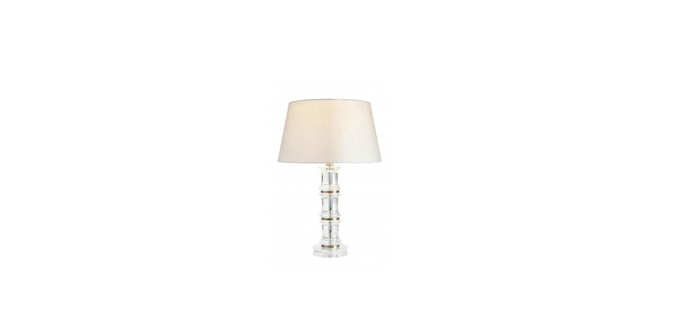Crystal Bamboo Table Lamp