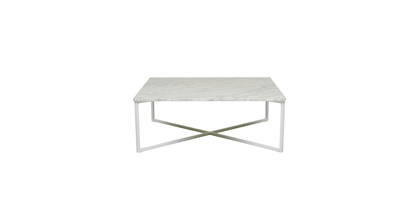 Elle Square Marble Coffee Table